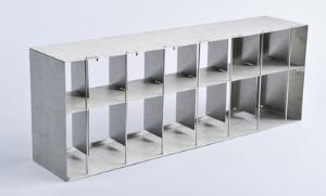 Microplate racks for revco UxF and HERAfreeze® HFU T freezers