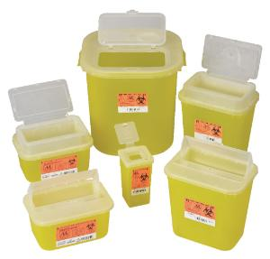 Sharps container systems, yellow