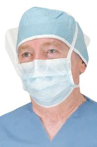 Hygiene mask, VWR® Critical Cover® with ShieldMate® Face shield