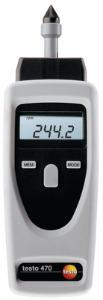 Optical and mechanical tachometer