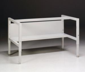 Telescoping Base Stand with leveling feet and shelf (non-welded) for Purifier Class II Biosafety Cabinets